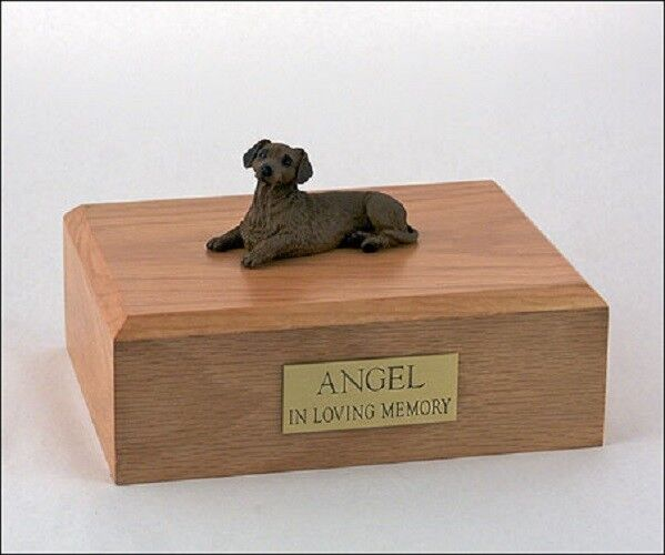 Red Dachshund Pet Funeral Cremation Urn Avail in 3 Different Colores & 4 Dimensiones