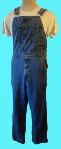 CRAFTSMAN overall 34x30 denim bib coverall painter