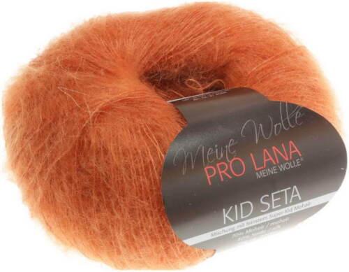 25 Orange Pro Lana Kid Seta