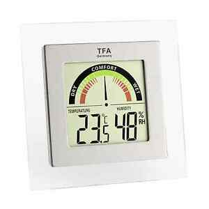 Digital Thermo-Hygrometer Klima Station Thermometer Raumluftkonrolle 30.5023 TFA