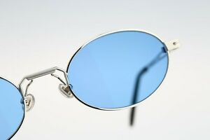 Alain Delon 3455A, 90s vintage blue oval sunglasses - NOS