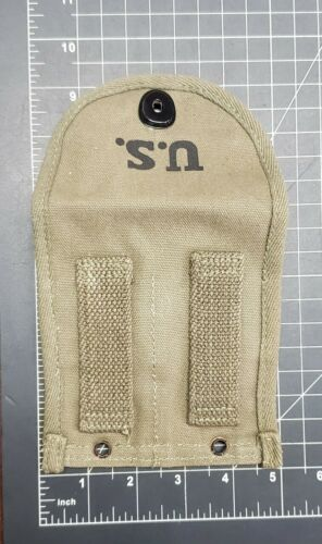 1x M1 Double Mag Clip Magazine Pouch for M1 Carbine Fits 15 Round Magazines