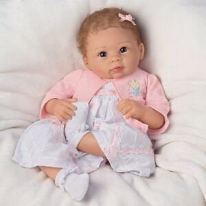 Ashton Drake Baby Doll A Moment In My Arms Forever In My Heart By