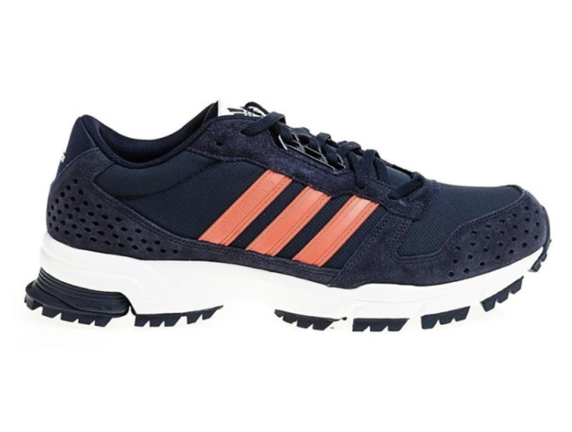 Mens shoes adidas marathon 10 tr m blue white trail mens