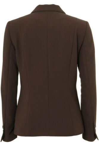 Busy Brown Ladies Suit Jacket