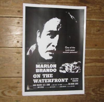 On the Waterfront Film Repro POSTER Black