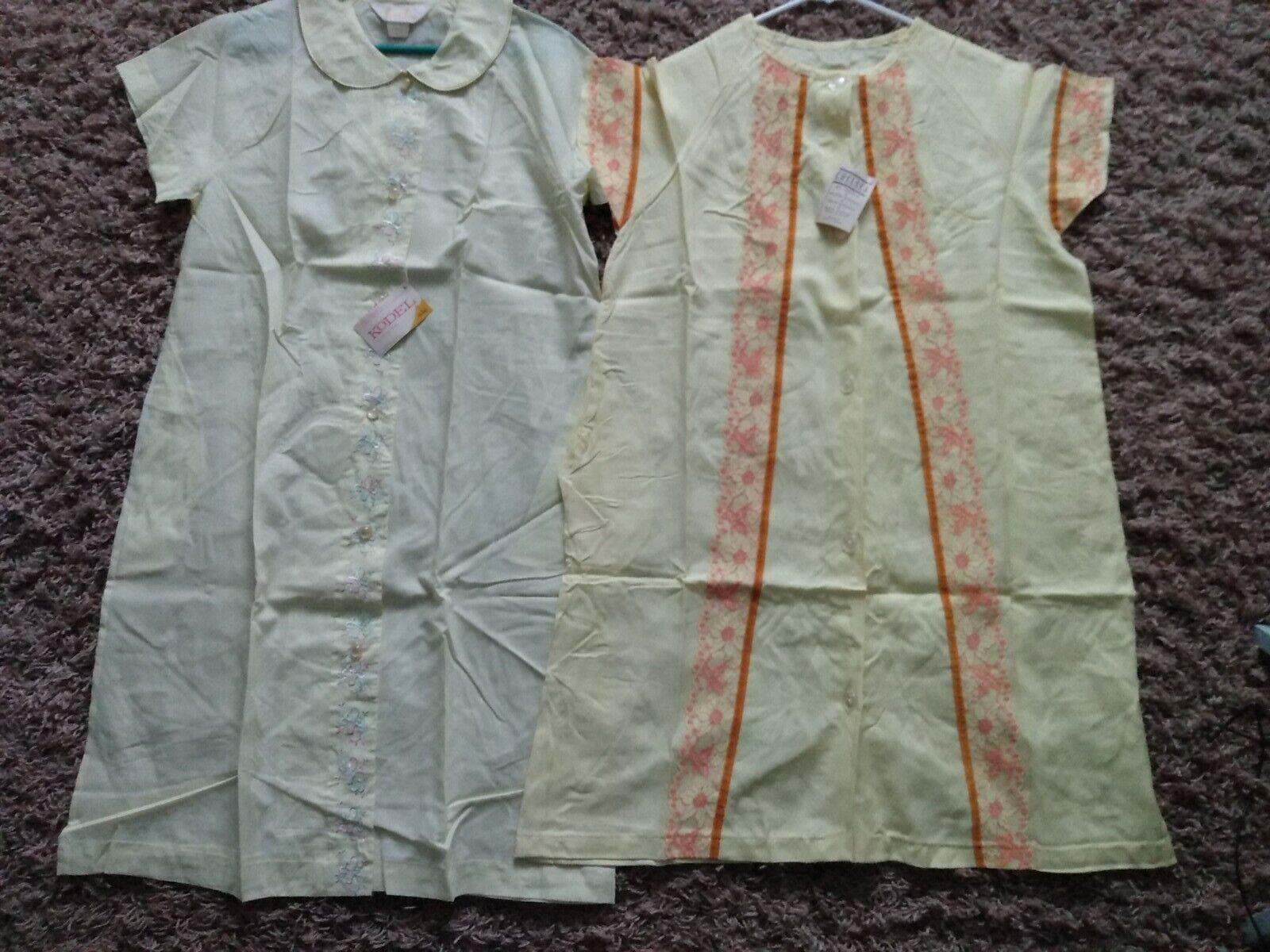 LOT OF 2 VINTAGE SMART TIME & ARCOLA HOUSE DRESS,… - image 11