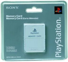 Sony Brand PS1 Memory Card Great Condition Fast Shipping