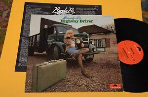 RANDY-PIE-LP-HIGHWAY-DRIVER-1-ST-ORIG-GERMANY-1974-EX-AUDIOFILI-LAMINATED-C