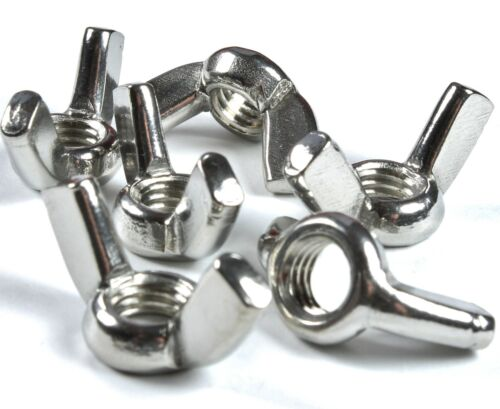 Free P/&P M4 Stainless Steel Wing Nuts x 20