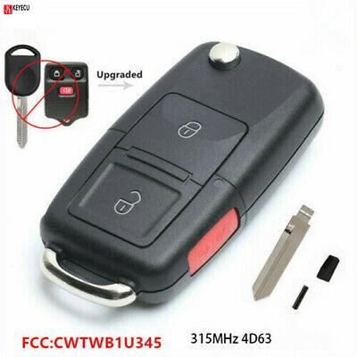 CWTWB1U345 Flip Key Fob fits Ford Lincoln Mercury Mazda Vehicles Keyless Entry Remote