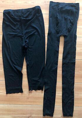 Cordiale 2 Pezzi Be Mammy 7/8 Capri 3/4 Circostanza Pantaloni Leggings Gravidanza Punta L-t Spitze L It-it Mostra Il Titolo Originale Per Migliorare La Circolazione Sanguigna