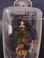 Dolls House Miniature 1:12th Scale Lighting Lounge Tiffany Shade (de011a)