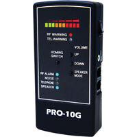 Kjb Portable Rf Hidden Spy Camera Gps Cell Phone Detector Bug Finder Pro-10g