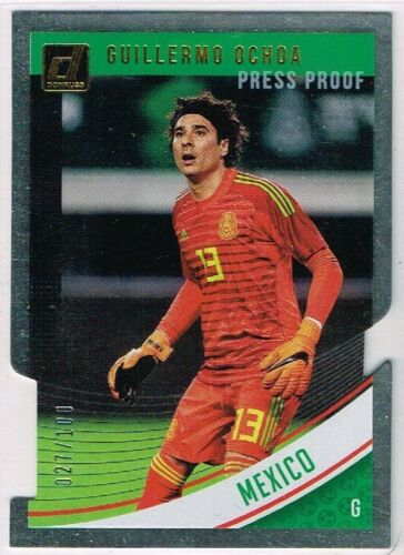 DONRUSS SOCCER 2018-2019 ☆ PRESS PROOF DIE-CUT PARALLEL ☆ Country Cards #//100