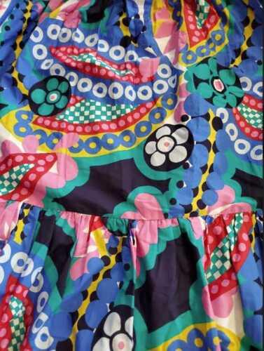 NEW WOMEN/'S  6 14 J CREW APRON MAXI DRESS IN RATTI KALEIDOSCOPE FLORAL