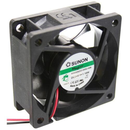 MF60252V2-1000U-A99 Axial-Lüfter 60x60x25mm 24VDC 32,78m³//h 22dBA Fan von Sunon