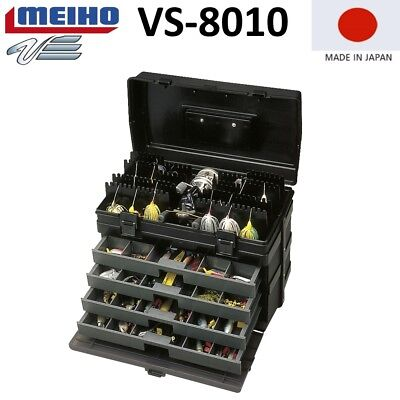 MEIHO Versus VS 8010 Angelkoffer Zubehörbox Box