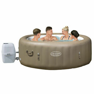 [20-22%] Bestway Inflatable LAY Z Spa Massage Hot Tub Portable Outdoor Bath Pool