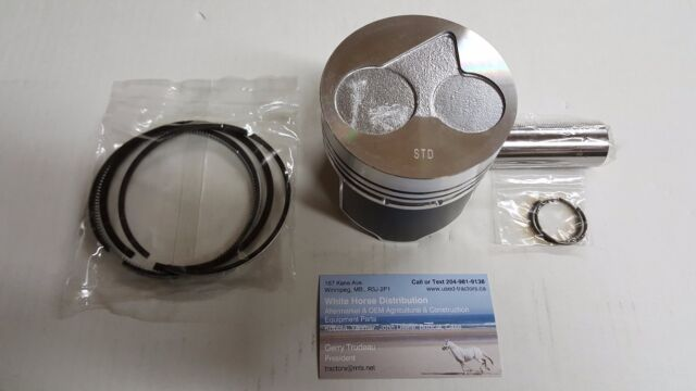 Kubota D902 Piston Kit with Pin /& Clips Fit AIR MAN WELDER DLW320LS Engine Parts