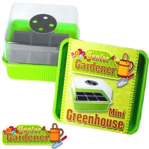 Mini Invernadero Junior Jardinero siembra de semillas de Despiece hortalizas hierbas comer