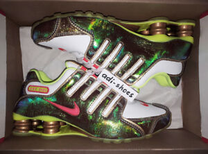 new products 67c0c 9ff27 ebay nike shox nz us 8 57286 fbb3d