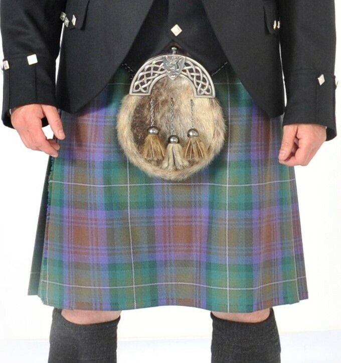 Ex-Hire Isle of Skye 8 Yard 13oz wool kilt - - 23