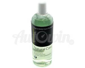 BMW Natural Care Car InteriorExterior Cleaning Wash Shampoo 500ml