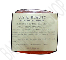 x3 NEW U.S.A. K.BROTHERS SLIMMING & FIRMING GEL-EXTRA HERBAL MASSAGE SOAP 30 G.