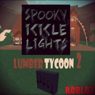 Roblox Lumber Tycoon 2 3x Pumpkin Decorative Lights Ebay