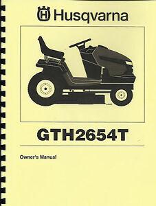 husqvarna yth2148 owners manual