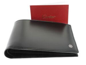 6a901a9d70 Chargement de l'image en cours CARTIER-Pasha-portafoglio -pelle-nera-uomo-referenza-L3000443-