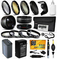 Battery Charger Accessories 49mm Filters For Sony Nex 3 5 7 C3 F3 5n 5r A3000