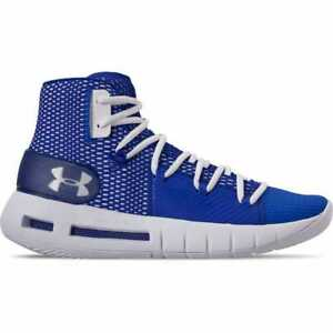 4e8078b32447 Men s Under Armour HOVR Havoc Mid Basketball Shoes Royal White White ...