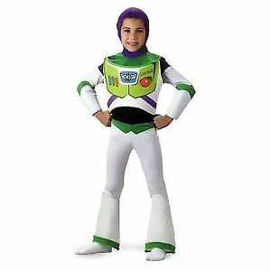 Stock photo  sc 1 st  eBay & Disney Toy Story Buzz Lightyear Deluxe Boys Halloween Costume Medium ...