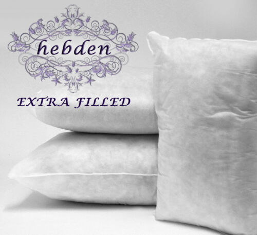 Cushion Pad Insert Inner Filler Hollowfibre Square Round Oblong 30/% Extra Filled
