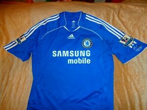 huge selection of 6b2d0 36b2c Details about ADIDAS CHELSEA FC VINTAGE SOCCER FOOTBALL JERSEY SHIRT KIT XL  #26 TERRY