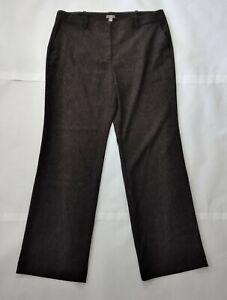 J-Jill-Womens-Linen-Hook-and-eye-Light-Straight-Leg-Stretch-Dress-Pants-Size-16