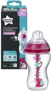 Tommee-Tippee-Breast-Like-Baby-Bottle-340ml-Advanced-Anti-Colic-Heat-Sensing-3M