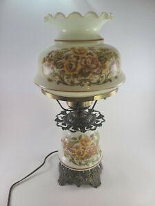 Vintage-Quoizel-Inc-GWTW-Hurricane-Table-Lamp-1973-1960-17-034-w-3-way-switch