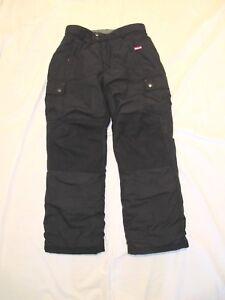 e25de13d5 12 LANDS END BOY Boys Waterproof Iron Knee Snow Pants ( Squall ...