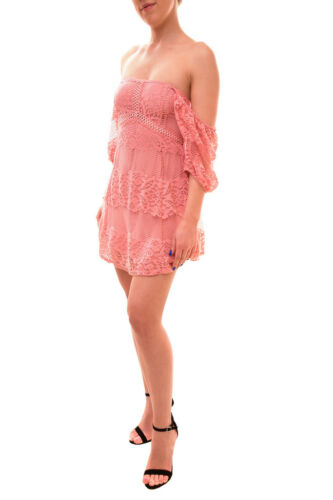 People Bcf84 Rrp Robe € dentelle Your femmes Free de 199 Be Baby en pour Xs rose taille O0qwxaOF