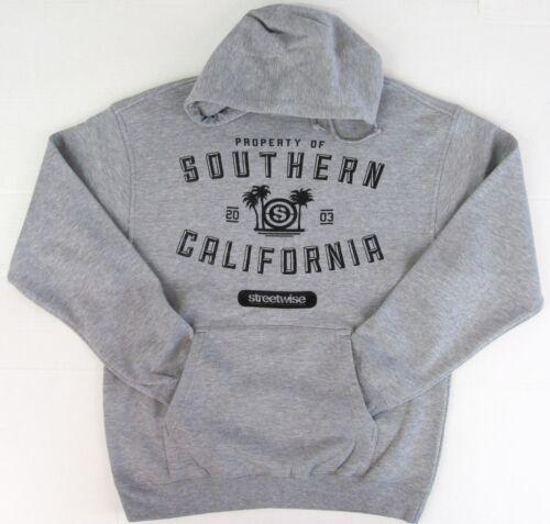 STREETWISE S.C.ATHLETIC Hoodie So Cal Cali Hooded Sweatshirt Hoody L,XL,2XL NWT