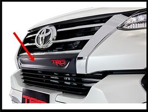 FOR-OEM-TOYOTA-NEW-FORTUNER-201-5-18-BLACK-ABS-PLASTIC-FRONT-GRILLE-COVER-TRD
