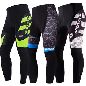 17a4f924d9187 Cycling Trouser Gel Padded For Men Bike Pants Long Sleeve Bicycle ...