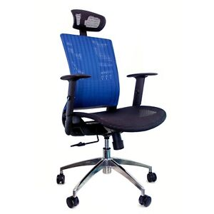 Mesh Office Chair Executive Headrest
