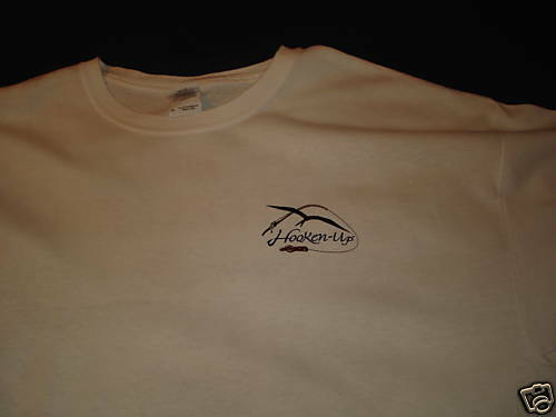 fishing t-shirt t shirt LURE FISH TROLL snook XL NEW