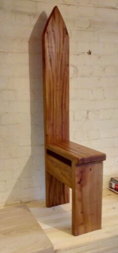 Elm Arched Bespoke Solid Wood Chair