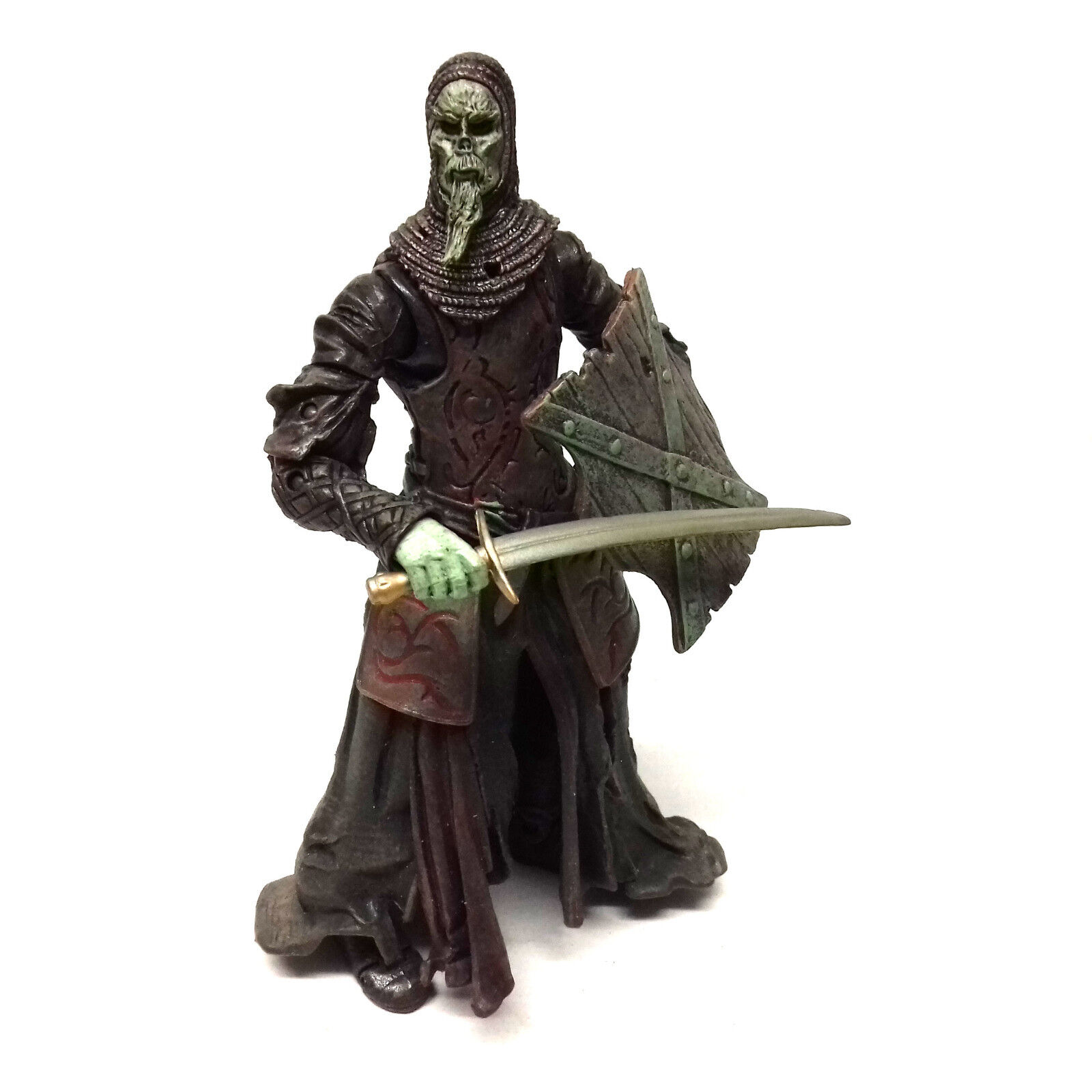 Tolkien Hobbit Lord of the Rings Movie UNDEAD SOLDIER 6 6 6  Villain figure RARE  4e6ac8