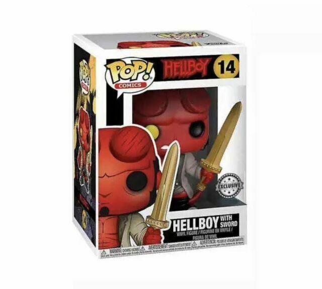 Vinyl Figure Hellboy with Sword exclusive Pop New in stock